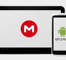 Aplicaciones de MEGA para Windows y Android