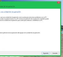 Cómo crear un disco de recuperación en Windows 8