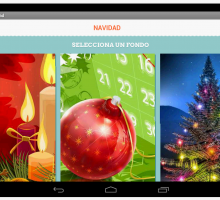 Felicitaciones de navidad para móviles Android