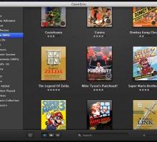 Emulador de viejas glorias gratuito para Mac OS X: OpenEmu