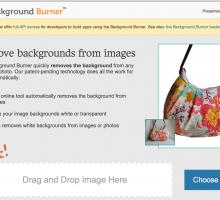 Eliminar el fondo de una imagen [Background Burner]
