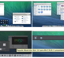 OS X Mavericks Skin Pack para Windows