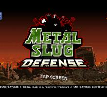 Metal Slug Defense para Android/iOS
