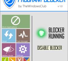 Bloquear programas en Windows 7 y 8