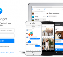 Web de Facebook Messenger