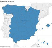 Mapa consulta con los radares móviles