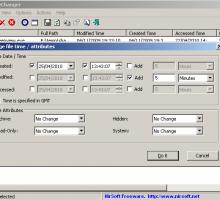 Cambiar atributos de archivos en Windows