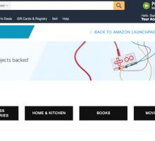 Amazon incluye los productos de Kickstarter