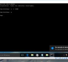 Apagado automático en Windows 10
