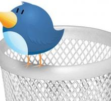 Vaciar datos de una cuenta de Twitter