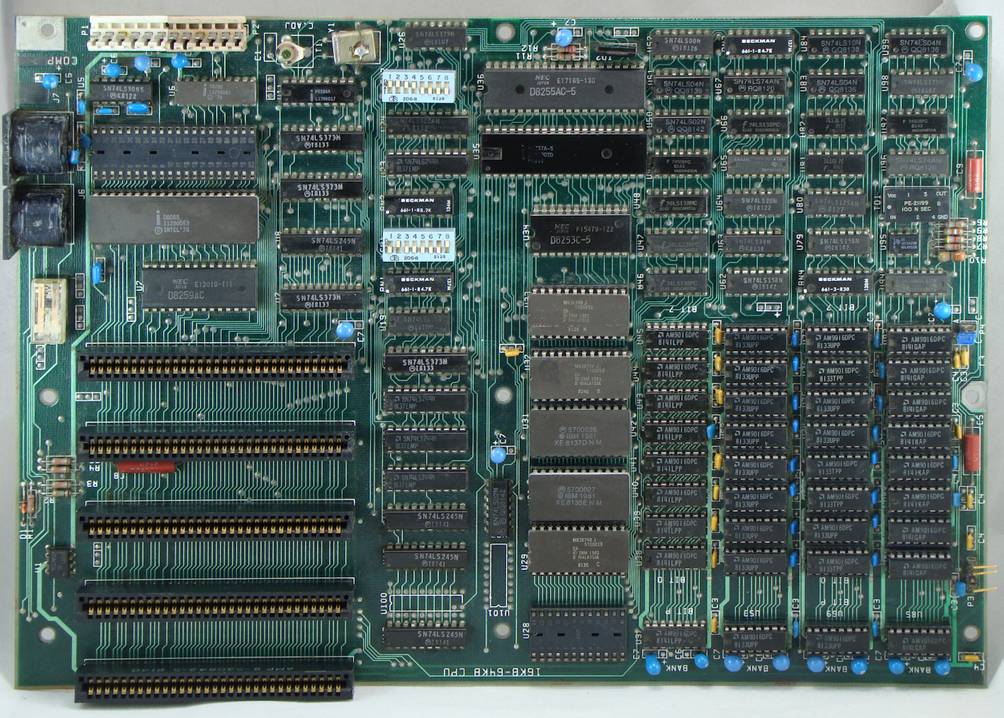 Placa-base-IBM-PC