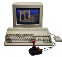 Emulador de videojuegos Amiga desde Internet Archive