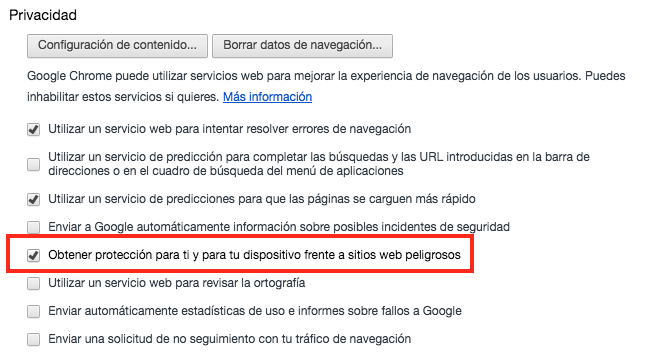 desactivar-advertencias-chrome