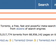 Torrentz2 incluye los resultados Torrentz, The Pirate Bay o ExtraTorrent entre otros