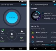 Limpia Android y ahorra batería con AVG