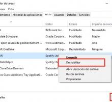 Desactivar programas que se inician con Windows 10