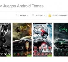 Temas para personalizar móviles Android