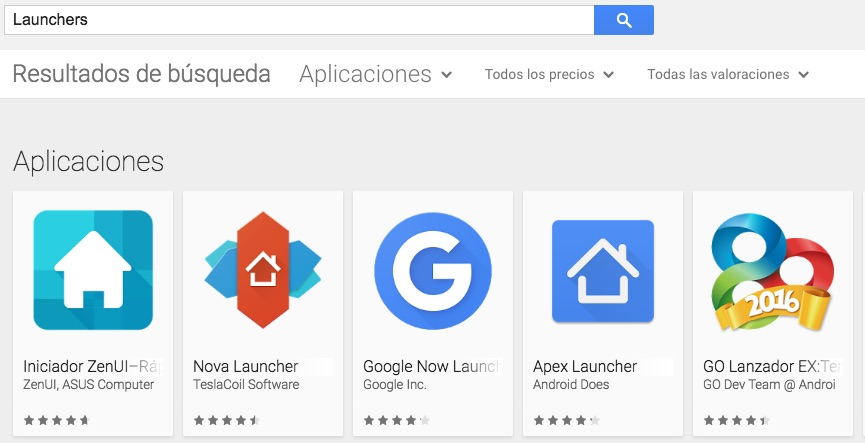launchers-android