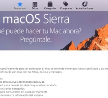 Disponible descarga de macOS Sierra final