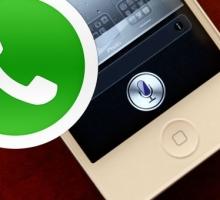 Enviar mensajes de WhatsApp con Siri