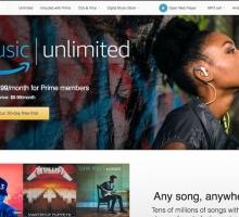 Amazon presenta 'Music Unlimited'