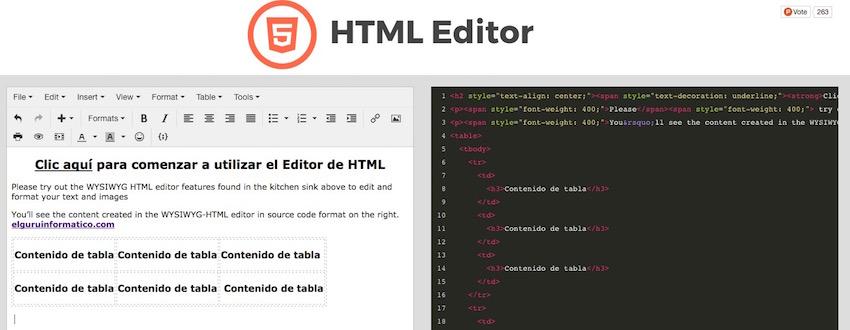 Editor-HTML-Online