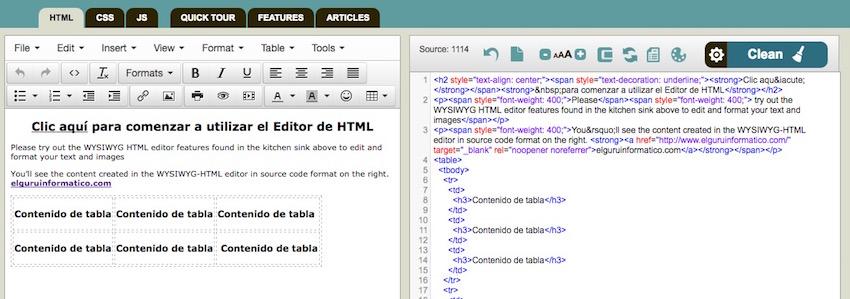 edicion-de-html-en-linea