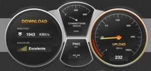 Test de velocidad de tu conexión a Internet