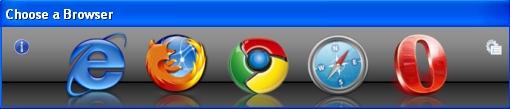 Selector de navegadores Browser Chooser