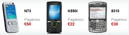 Vender móvil viejo o usado