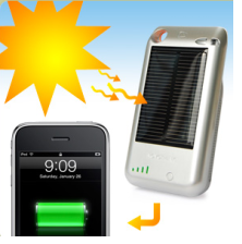 Fundas con cargador solar para iPhone