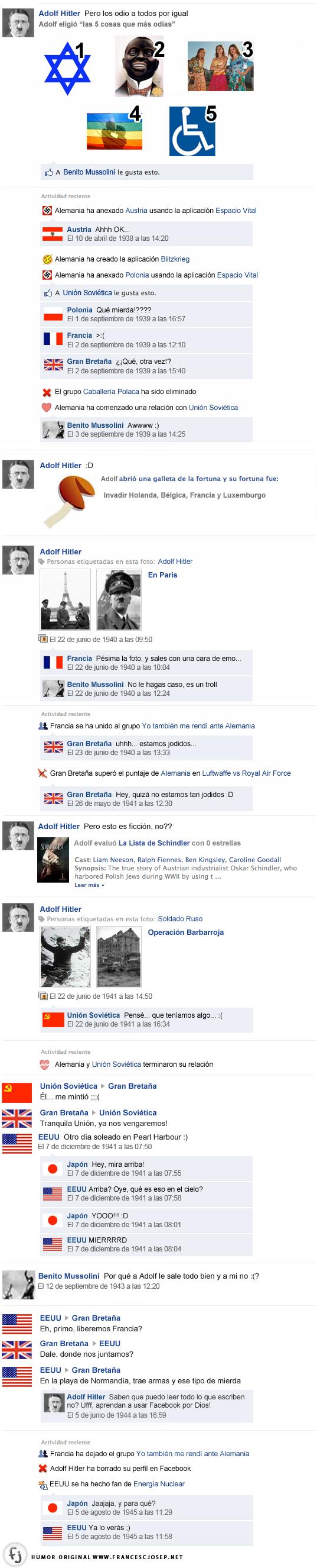 El Facebook de Hitler