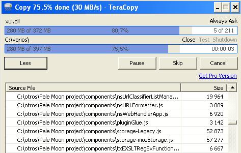 Transferencia rápida y sin errores de archivos