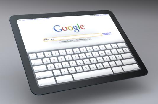 Próximo tablet de Google con Chrome y Flash