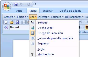 Menú clásico para Office 2007 y 2010