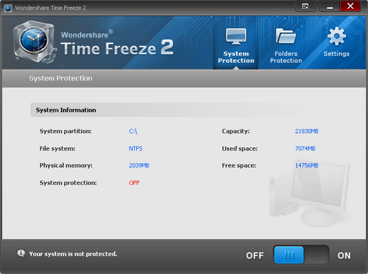 Congelar sistema