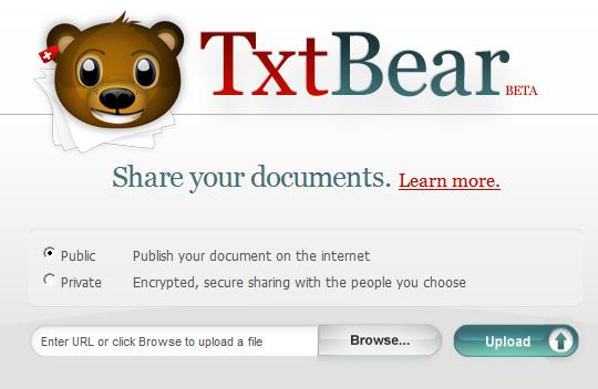 Compartir gratis documentos online
