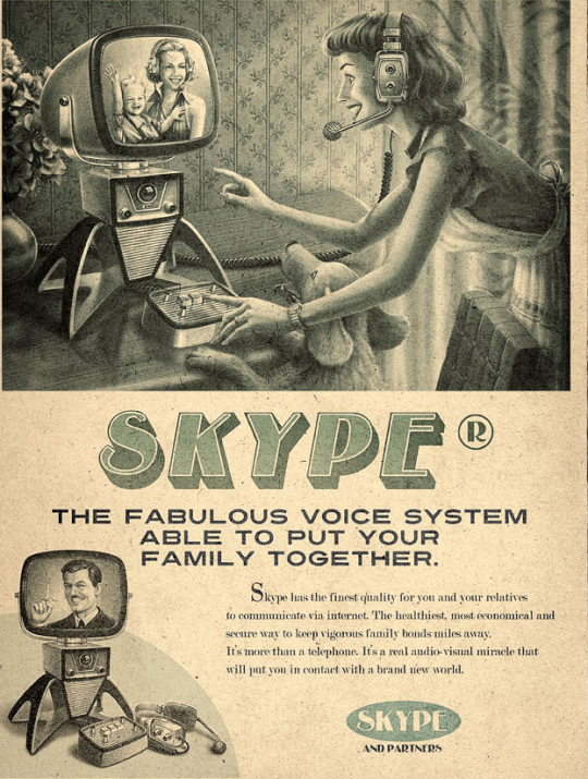Skype en los años 50