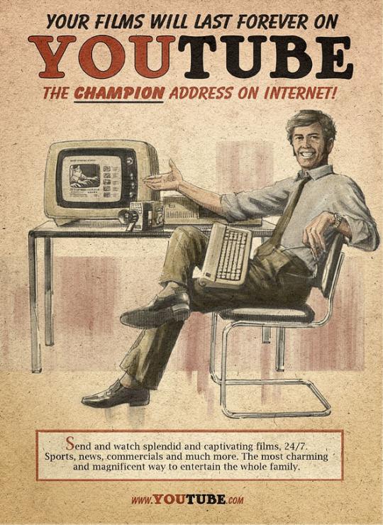 Youtube en los años 50