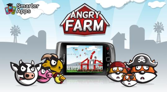 Descargar Angry Birds para Blackberry