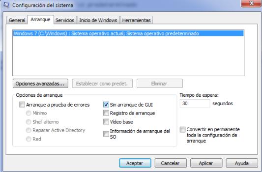 desactivar GUI