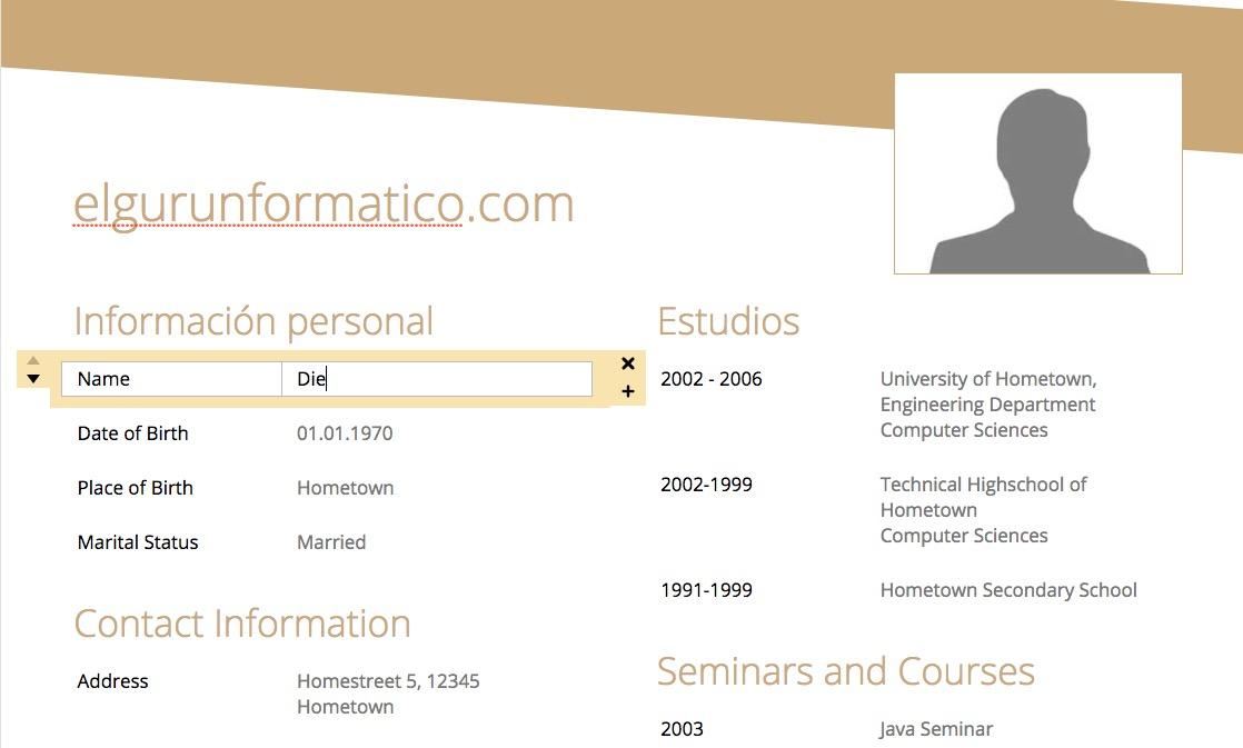 Crear un Currículum vítae online fácilmente