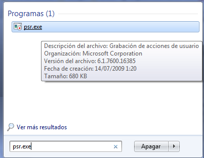 screenshots en windows 7