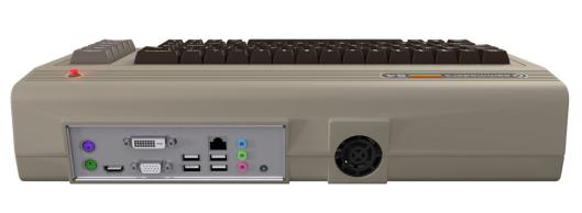 Conexiones de la nueva Commodore 64