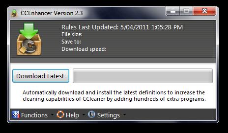 Soporte para más programas en CCleaner