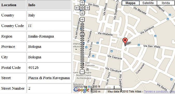 Ubicación geográfica de red wifi