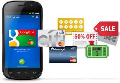 Tarjeta de crédito con Android