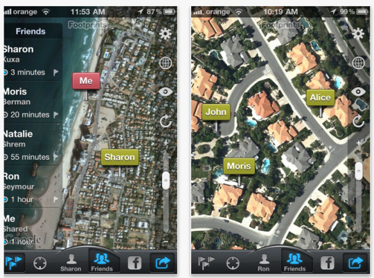 Localización geográfica para el iPhone