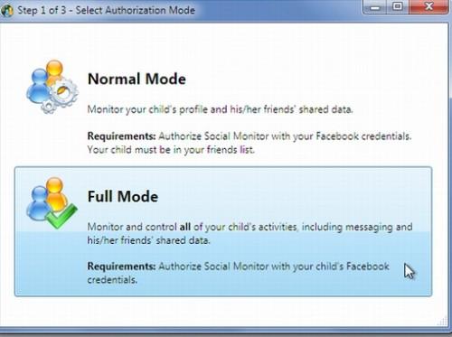 Monitor de Facebook para saber qué hacen los niños