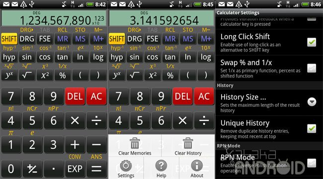 RealCalc para Android
